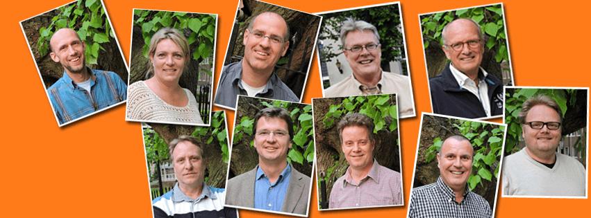 Volksvertegenwoordigers in de commissies van gemeente Oisterwijk
