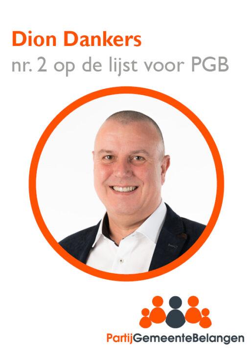 Kandidaten kieslijst stellen zich voor: Dion Dankers uit Oisterwijk