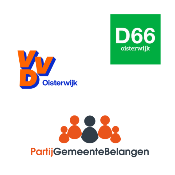 PGB en VVD met D66 om tafel in Oisterwijk