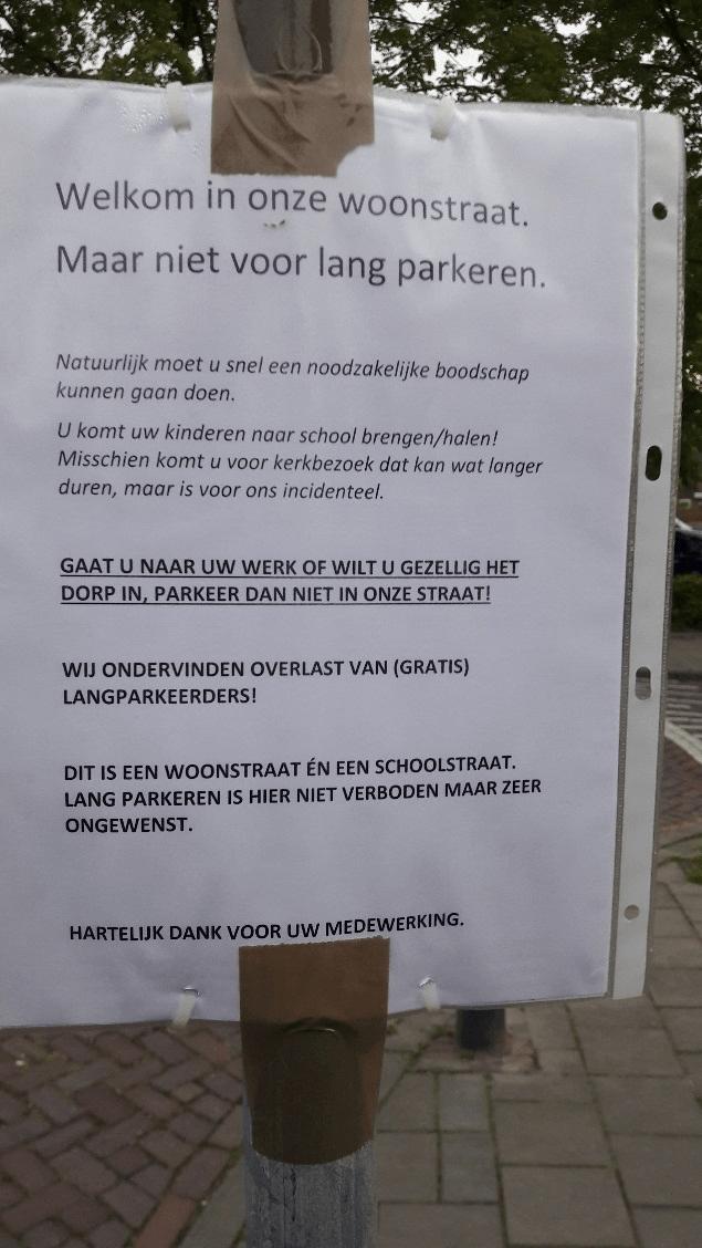 Parkeren in schil rondom centrum Oisterwijk blijft heet hangijzer!