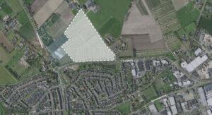 Mogelijk nieuw bedrijventerrein langs de Bedrijfsweg en Spreeuwenburgerweg in Oisterwijk © Gemeente Oisterwijk