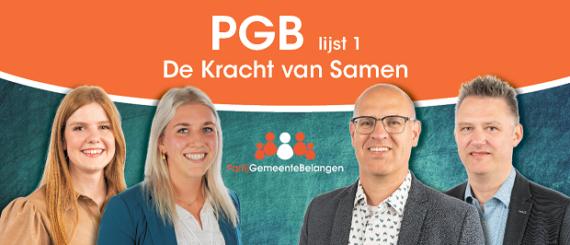 PGB wederom de grootste partij